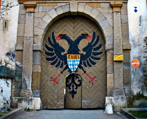 Die Klosterpforte von Ettal