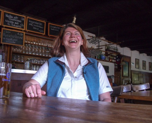 Ina Taurer - Chefin der Frasdorfer Hütte