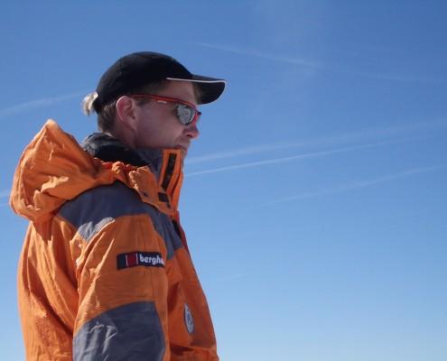Hüttenwirt Emil Widmann am Großvenediger im Profil