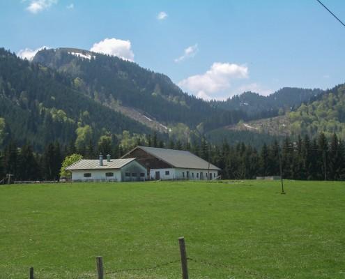 Die Hofalm bei Frasdorf