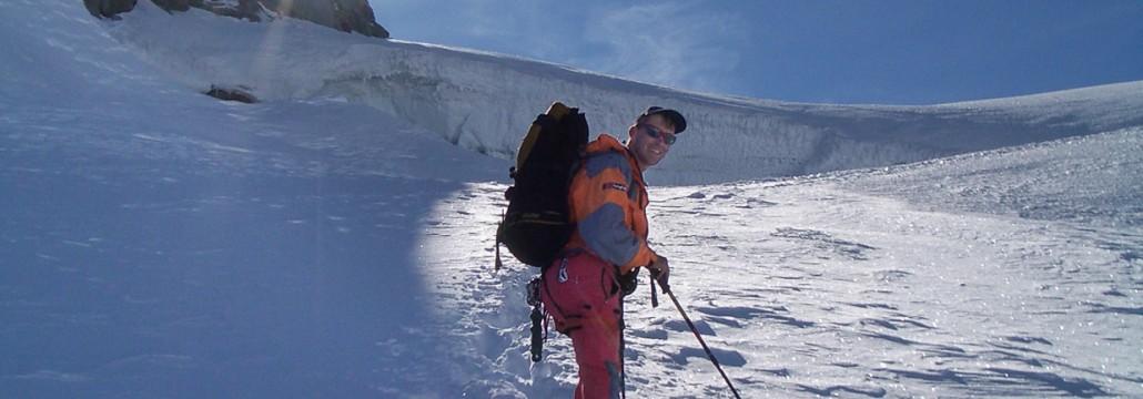 Emil Widmann, Bergführer und Hüttenwirt der Kürsinger Hütte